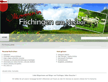 Tablet Preview of fischingen-am-neckar.de